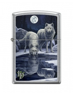 Bricheta Zippo 9295 Lisa Parker-Wolves & Full Moon