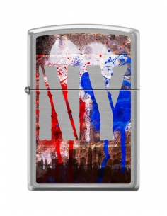 Bricheta Zippo 8930 New York City-Graffiti
