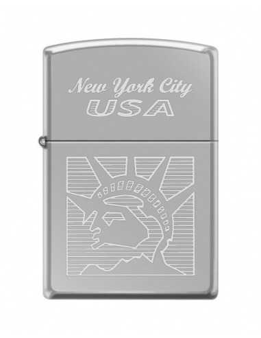 Bricheta Zippo 2118 New York City-Statue of Liberty