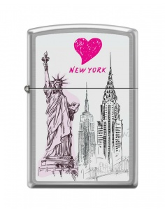 Bricheta Zippo 7038 New York City-Collage