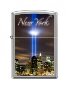 Bricheta Zippo 8939 New York City Skyline-Twin Towers
