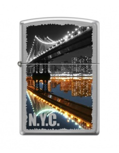 Bricheta Zippo 7841 Manhattan Bridge-New York City