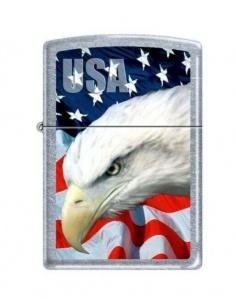 Bricheta Zippo 3021 USA Flag & Eagle