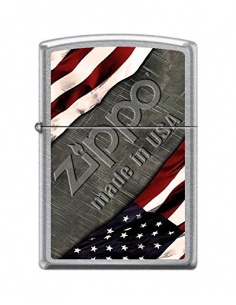 Bricheta Zippo 1276 United States Flag