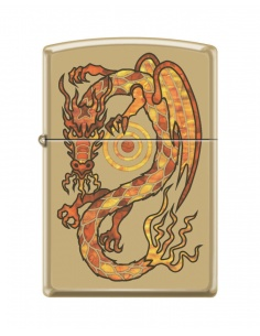 Bricheta Zippo 0164 Fire Breathing Dragon