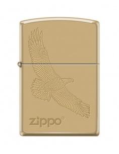 Bricheta Zippo 4551 Soaring Eagle-Zippo Logo
