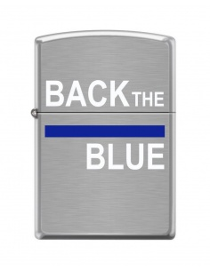 Bricheta Zippo 5013 Back the Blue-Police