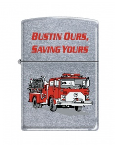 Bricheta Zippo 7186 Firefighter-Bustin Ours-Saving Yours
