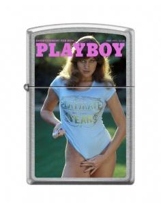 Bricheta Zippo 6326 Playboy Cover-June 1977