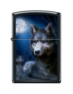 Bricheta Zippo 3434 Pack of Wolves Full Moon