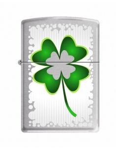 Bricheta Zippo 3501 4 Leaf Clover-Luck