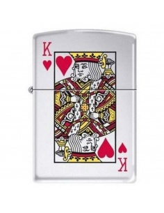 Bricheta Zippo 7555 King of Hearts