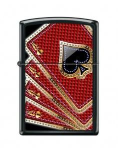 Bricheta Zippo 7953 Card Suits-Aces