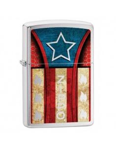 Bricheta Zippo 4581 American Flag-Star
