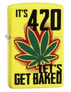 Bricheta Zippo 6344 It's 420-Let's Get Baked