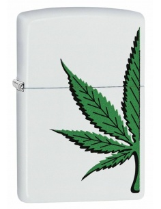 Bricheta Zippo 5922 Marijuana Pot Leaf Design
