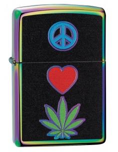 Bricheta Zippo 6345 Pot Leaf/Marijuana