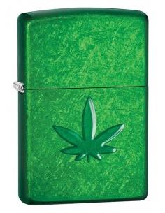 Bricheta Zippo 29673 Marijuana Leaf