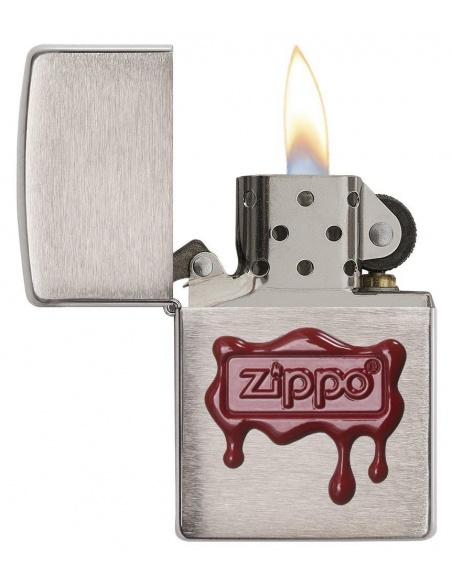 Brichetă Zippo 29492 Red Wax Seal-Logo