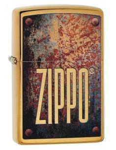 Brichetă Zippo 29879 Rusty Plate Design