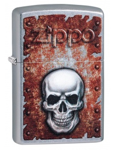 Brichetă Zippo 29870 Rusted Skull Design