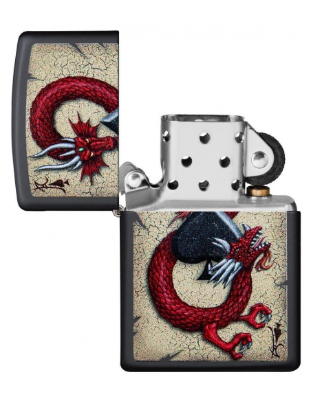 Brichetă Zippo 29840 Dragon-Ace of Spades
