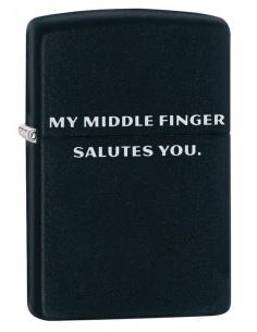 Brichetă Zippo 29867 My Middle Finger Salutes You
