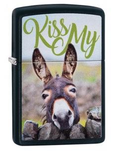 Brichetă Zippo 29868 Kiss My...Donkey
