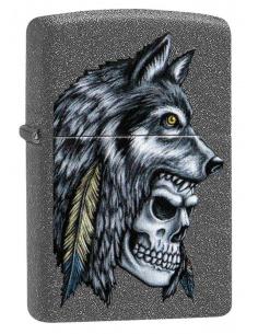 Brichetă Zippo 29863 Wolf & Skull