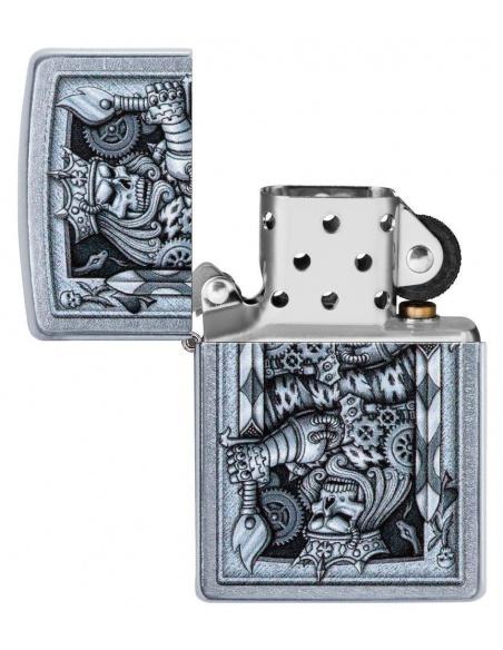 Brichetă Zippo 29877 Steampunk King of Spades Design