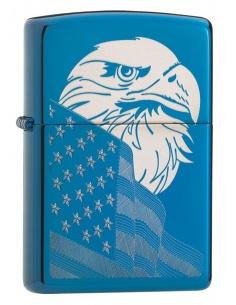 Brichetă Zippo 29882 Eagle & USA Flag Design