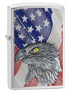 Brichetă Zippo 29508 Eagle With American Flag