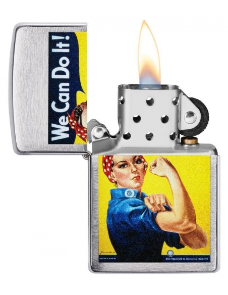 Brichetă Zippo 29890 Military Poster-We Can Do It-Rosie