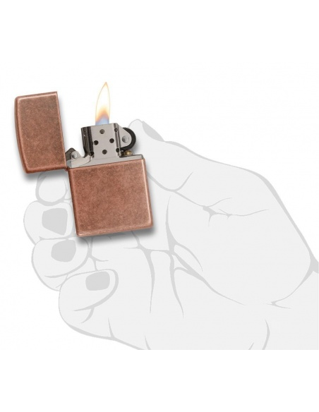 Brichetă Zippo 301FB Antique Copper