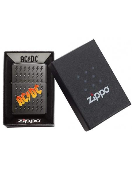 Brichetă Zippo 49014 AC/DC-Logo