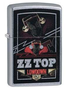 Brichetă Zippo 49008 ZZ Top-Lowdown Since 1969