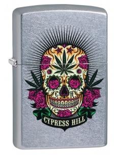 Brichetă Zippo 49011 Cypress Hill-Sugar Skull/Weed Design