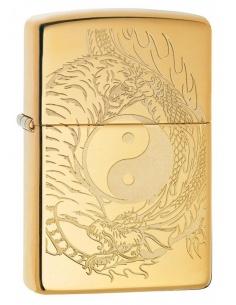 Brichetă Zippo 49024 Tiger & Dragon Design