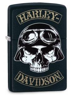 Brichetă Zippo 29738 Harley Davidson-Skull