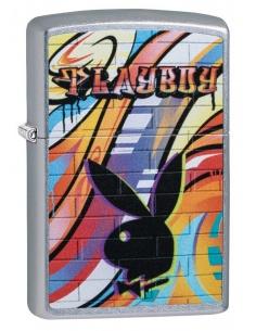 Brichetă Zippo 49007 Playboy Bunny Logo-Street Art