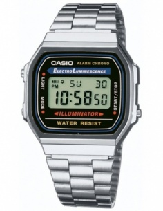 Ceas unisex Casio Retro Vintage A168WA-1YES