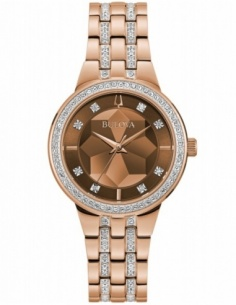 Ceas de dama Bulova Crystal 98L266