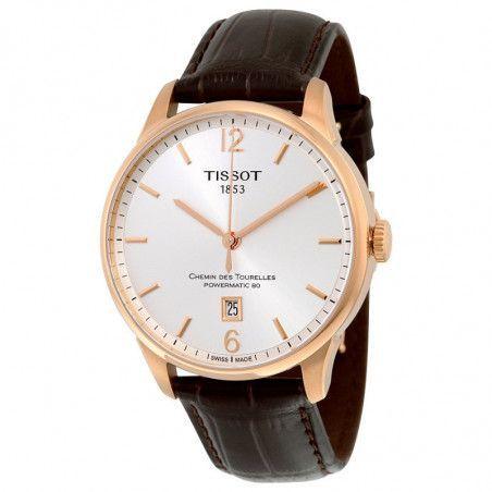 Ceas barbatesc Tissot T-Classic Chemin Des Tourelles T099.407.36.037.00 T0994073603700
