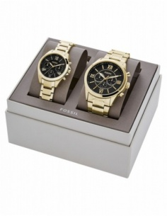 Ceas unisex Fossil His and Her BQ2400SET