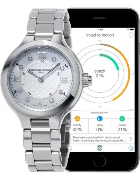 Ceas de dama Frederique Constant Horological Smartwatch FC-281WHD3ER6B