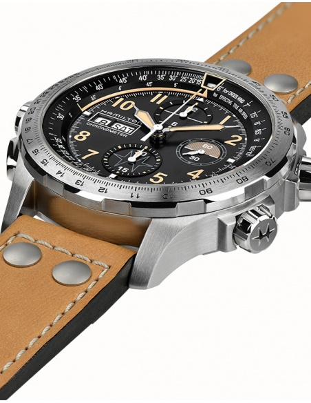 Ceas barbatesc Hamilton Khaki Aviation H77796535