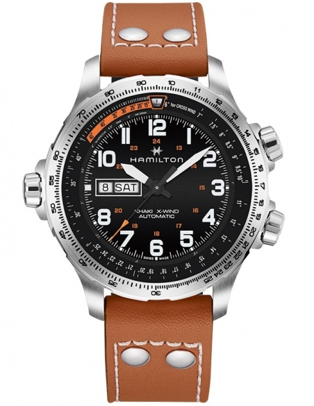 Ceas barbatesc Hamilton Khaki Aviation H77755533