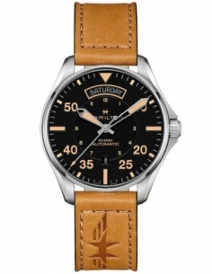 Ceas barbatesc Hamilton Khaki Aviation H64645531