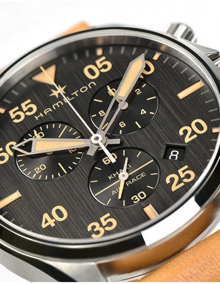 Ceas barbatesc Hamilton Khaki Aviation H76722531