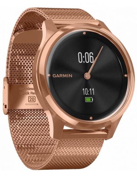 Ceas unisex Garmin Vívomove® Luxe 010-02241-24